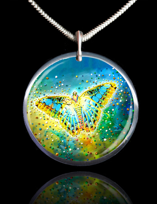 The Magic Butterfly Energy Pendant