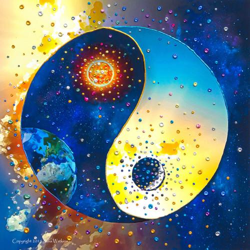 Yin & Yang Energy Balancing Giclee Print