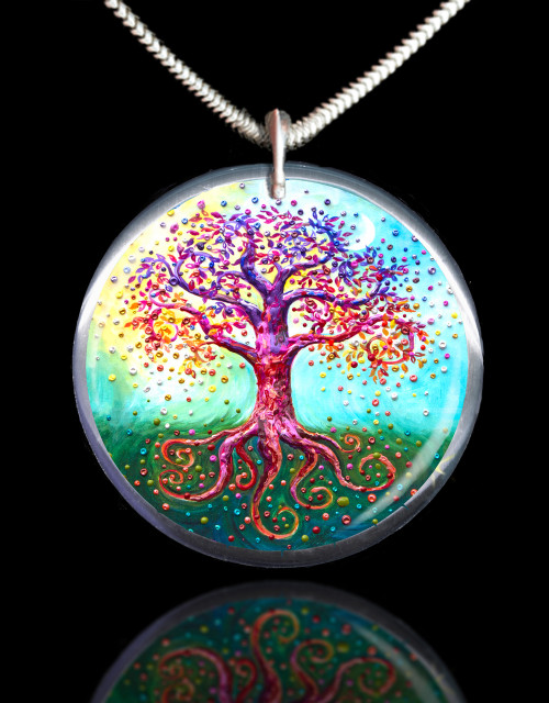 The Tree Of Life Energy Pendant