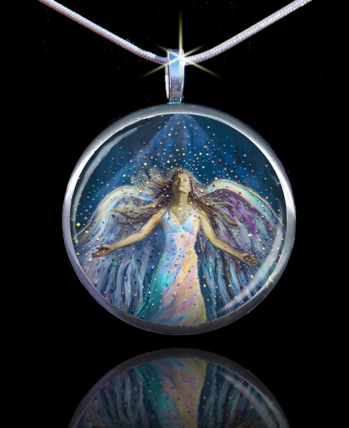 The Blessing Angel Divine Energy Pendant