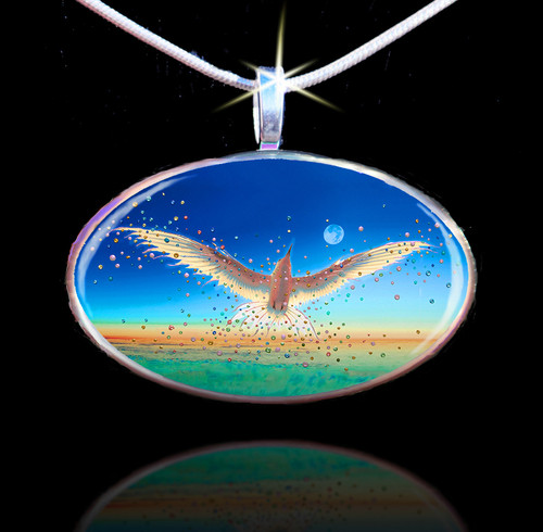 Free Bird Energy Pendant - Break The Bonds That Hold You And Let Your Spirit Soar