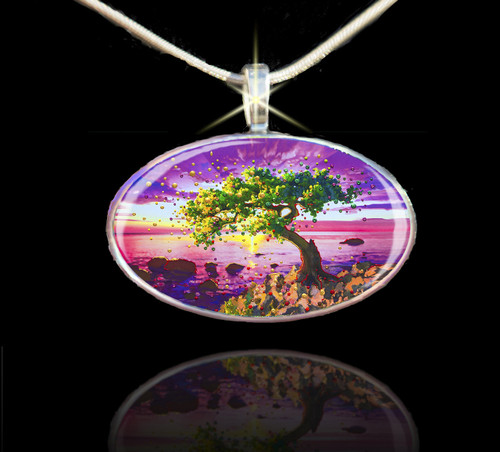 The Forgiveness Tree Energy Pendant