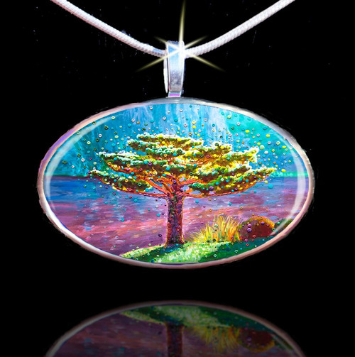 The Tree Of Gratitude Pendant - Your path to joy and happpiness