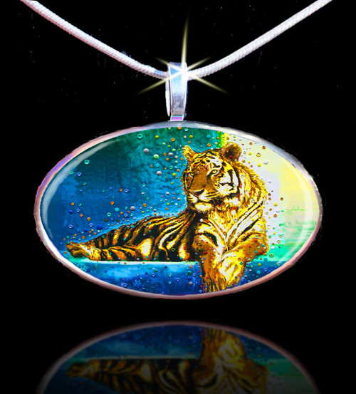 Temple Tiger – Your Personal Spiritual Guardian & Protector - Positive Energy Pendant