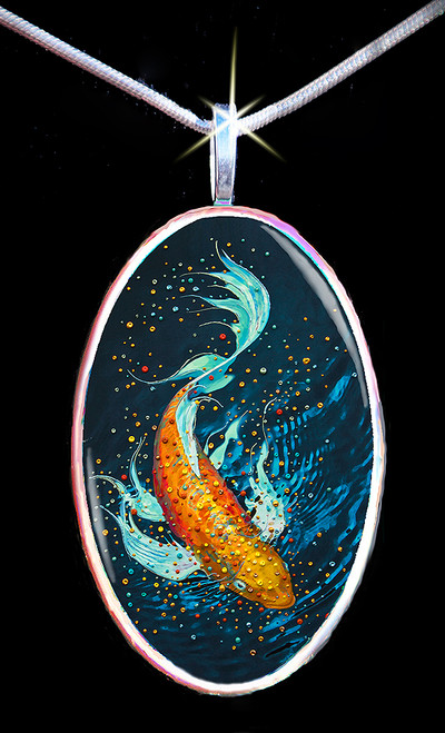The Money Fish Wealth And Abundance Pendant