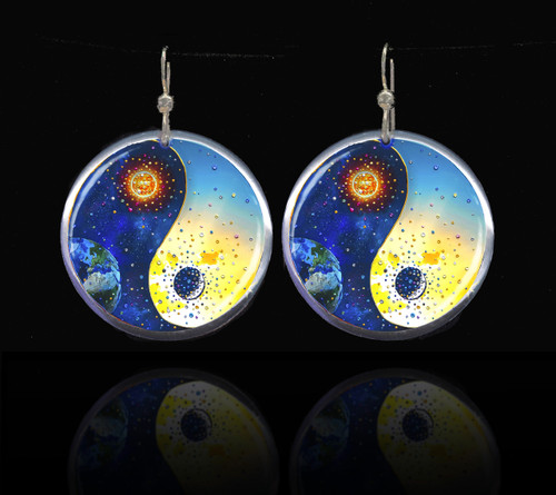 Yin & Yang Energy Balancing Earrings