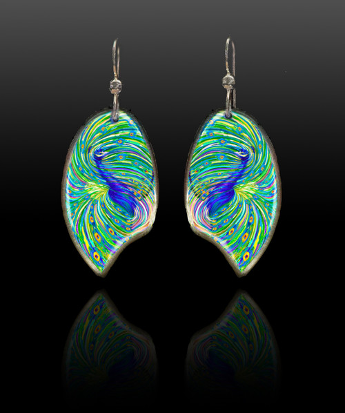 Peacock Energy Earrings