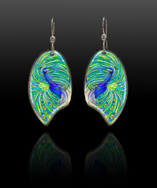 Peacock Energy Earrings