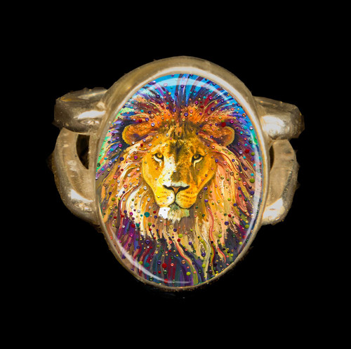 Lion Heart Energy Ring