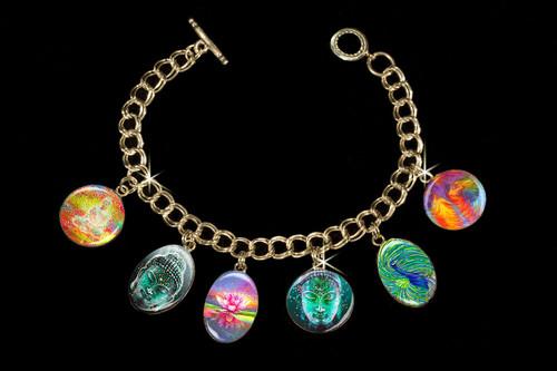 Buddha Sacred Energy Charm Bracelet
