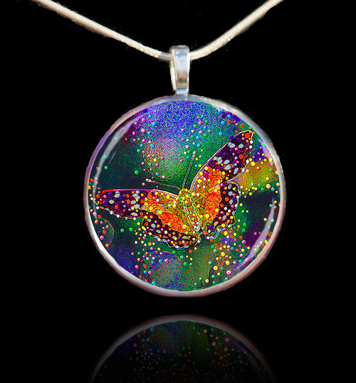 Butterfly Transformation Pendant - Release your inner beauty
