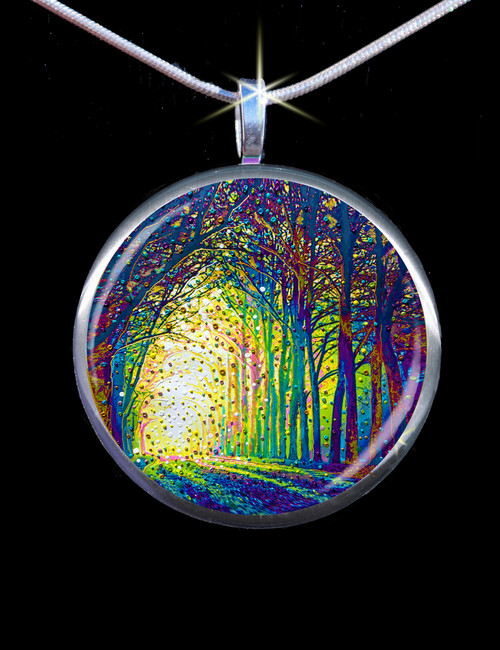 Cathedral Of Light - Divine Revelations Pendant