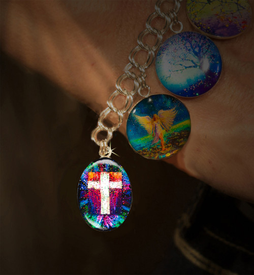 The Divine Energy Cross Charm