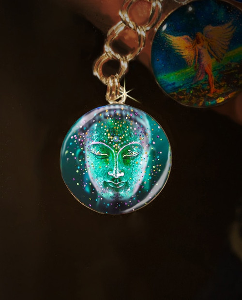 The Jade Buddha Good Luck Energy Charm