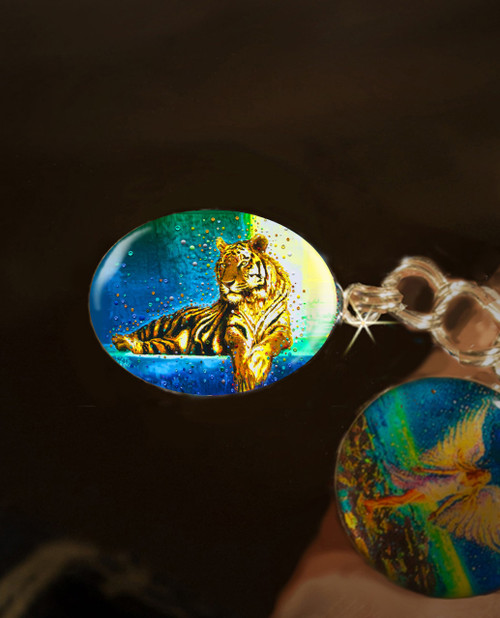 Temple Tiger – Your Personal Spiritual Guardian & Protector - Positive Energy Charm