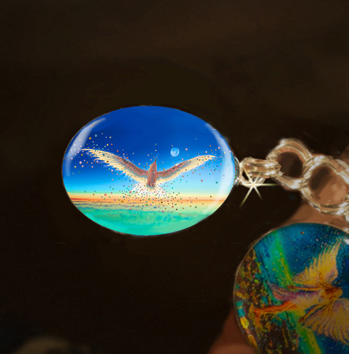 Free Bird Energy Charm - Break The Bonds That Hold You And Let Your Spirit Soar