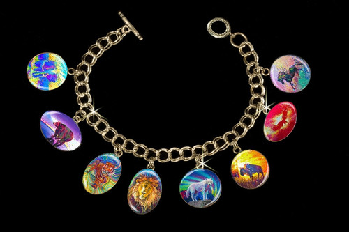 Powerful Spirit Guide - Animal Totem Metaphysical Charm Bracelet
