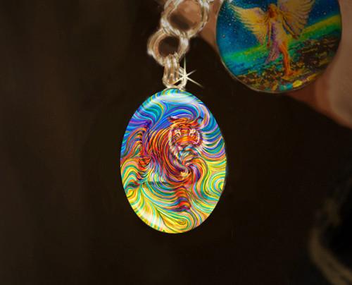 Tiger Totem Psychic Manifestation Charm