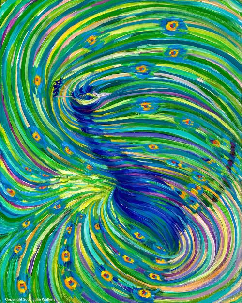 Peacock - Beauty. Foresight. Clairvoyance.