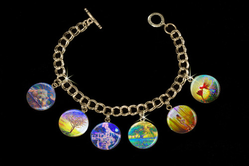 Peace & Harmony Metaphysical Charm Bracelet