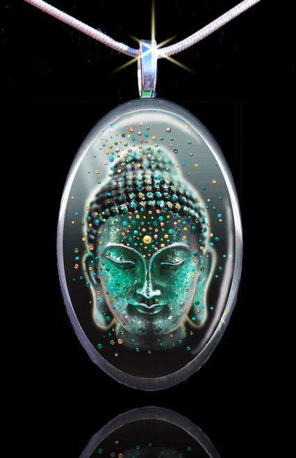 Buddha Deep Serenity Pendant - Release your fears and worries
