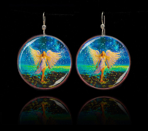 Star Angel Personal Comfort Earrings