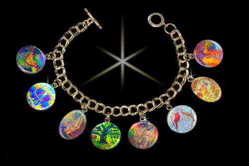 Soulmate - Positive Relationship Charm Bracelet.