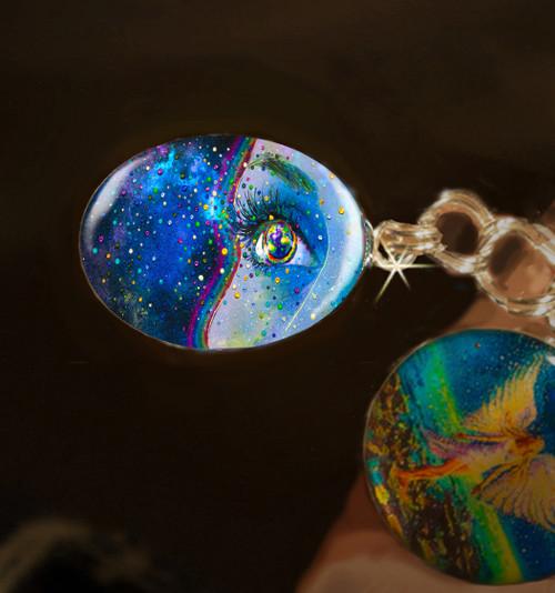 Gaia Spirit Of The Earth - Positive Energy Charm