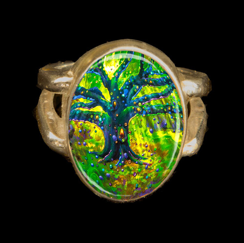 The Fairy Tree - Magical Good Luck Ring