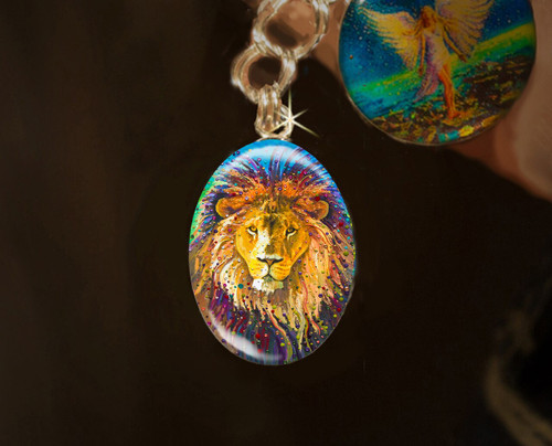 Lion Heart Energy Charm