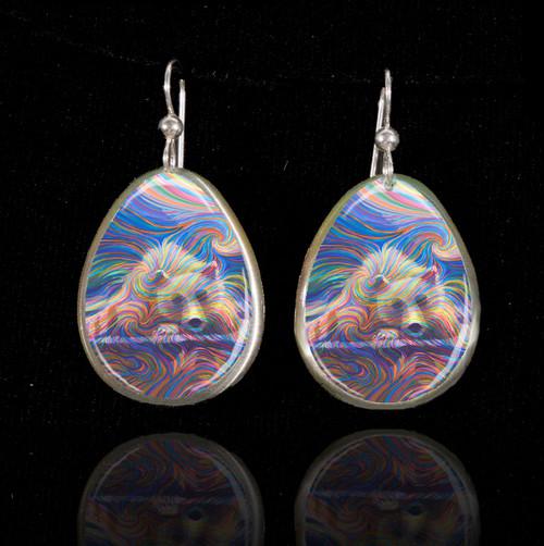 Medicine Bear Earrings - Bringer of strong medicine magic