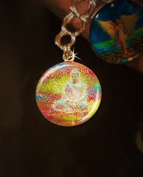 Buddha's Light Metaphysical Energy Charm