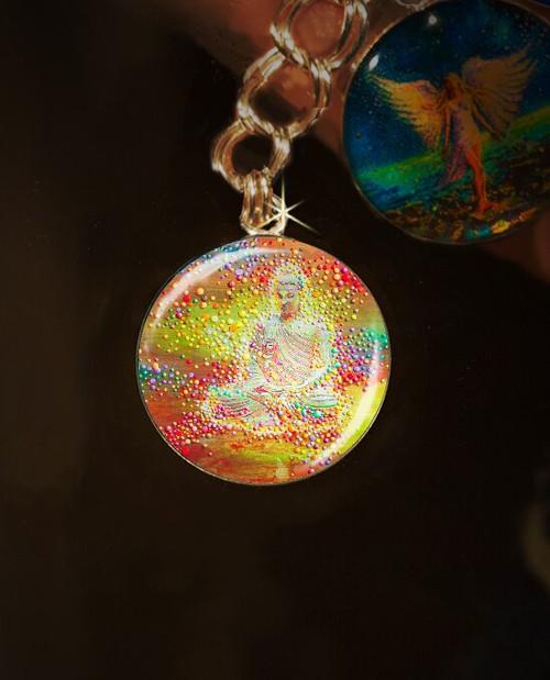 Buddha's Light Metaphysical Energy Charm