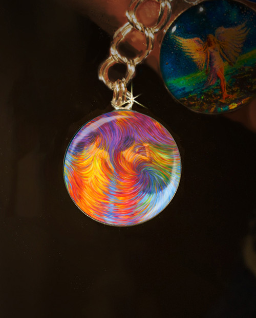 Buddhist Monks Energy Clearing Charm