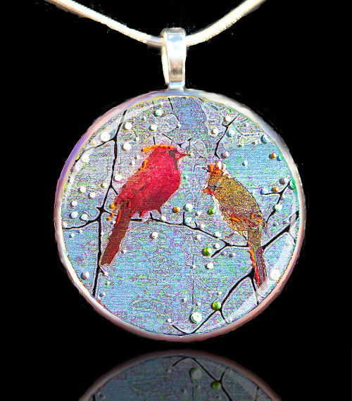 The Courtship - Relationship Pendant
