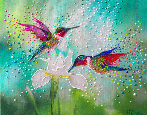 Hummingbirds – Good Luck And Abundance Totem