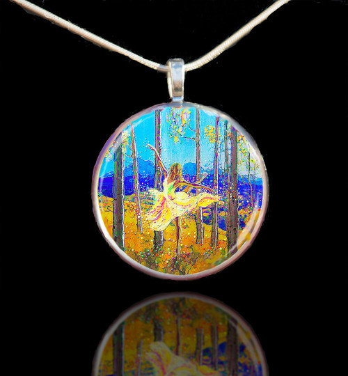 Aspen Dancer - Spirit Of The Trees - Pendant