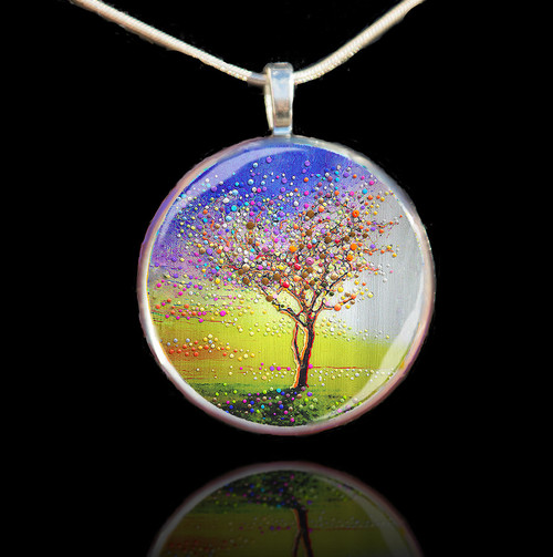The Peace Tree Pendant - Find Inner Peace