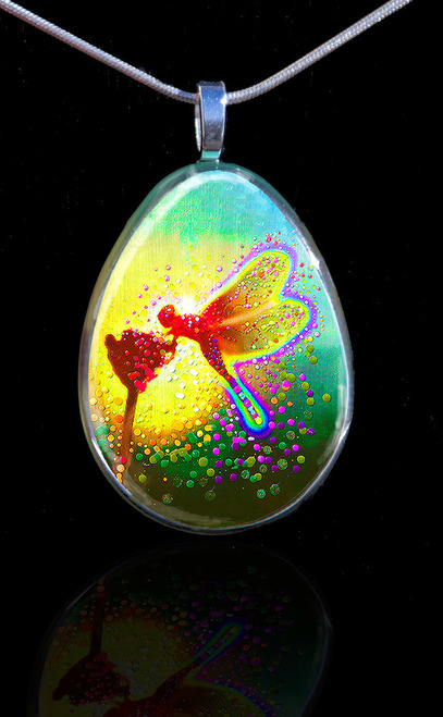 Dragon Fairy Pendant - Projecting stunning elemental energies