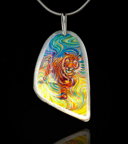 Tiger Totem Psychic Intuition Pendant