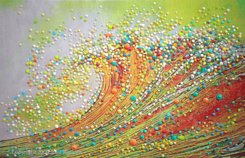 The Golden Wave - Let go and transform.