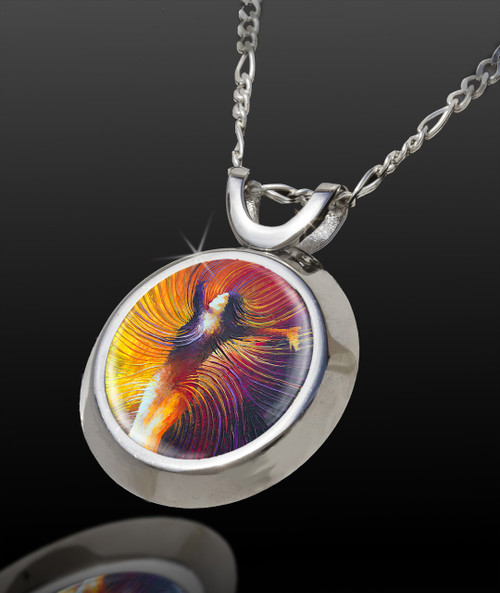 Beautiful As You Are Magical Energy Pendant - From The Magical Chi Collection *