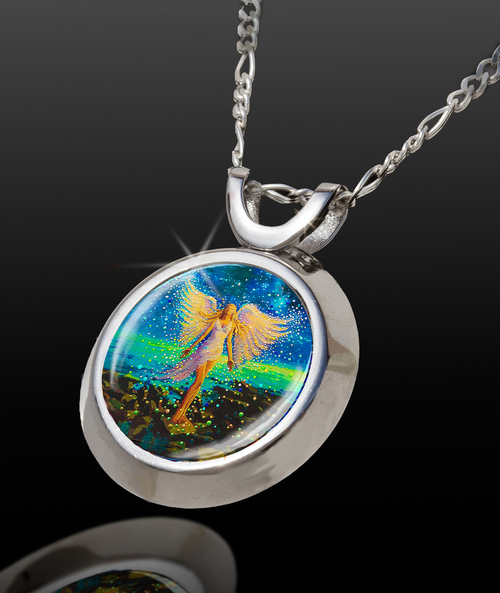 Star Angel Magical Energy Pendant - From The Magical Chi Collection *