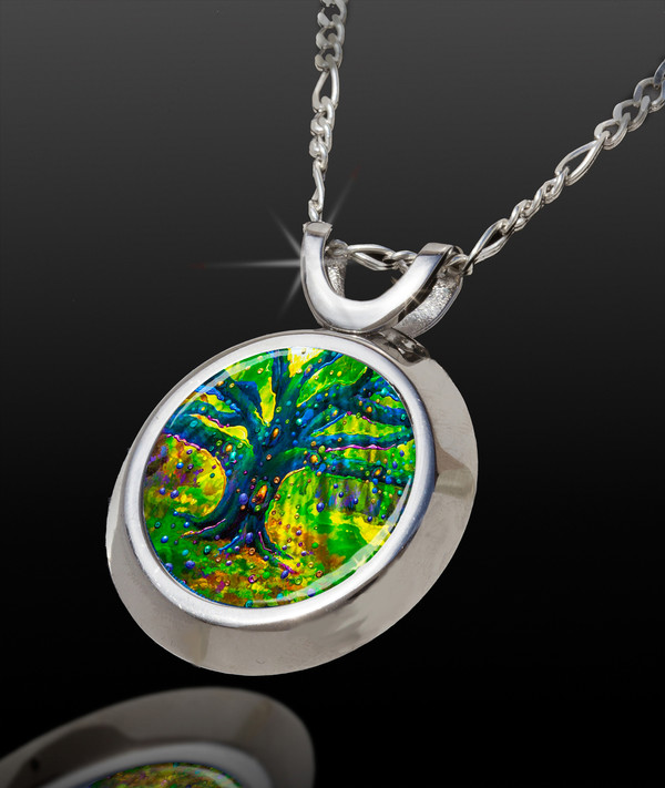 Fairy Tree Magical Energy Pendant - From The Magical Chi Collection *