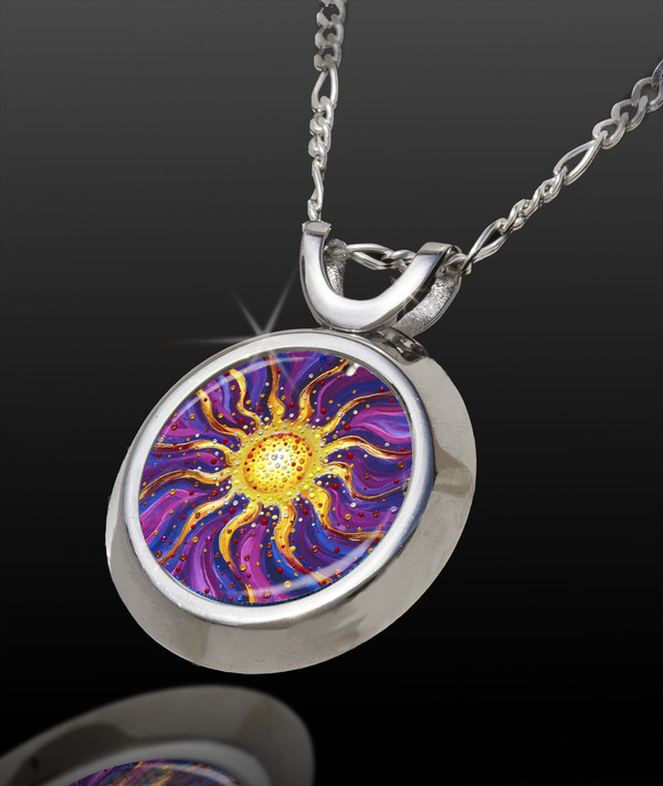 El Sol Magical Energy Pendant - From The Magical Chi Collection *