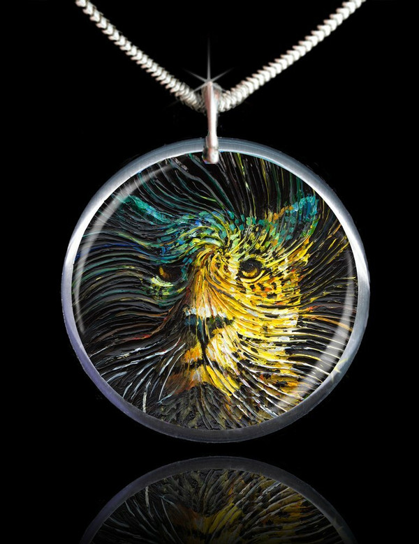 Jaguar Spirit Energy Pendant