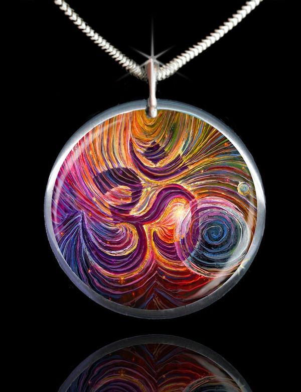 Sacred Om Energy Pendant