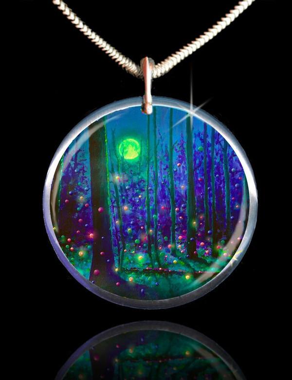 Fairy Forest Magical Energy Pendant