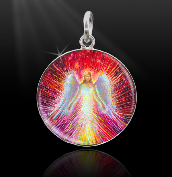 Angel of New Hope Energy Charm