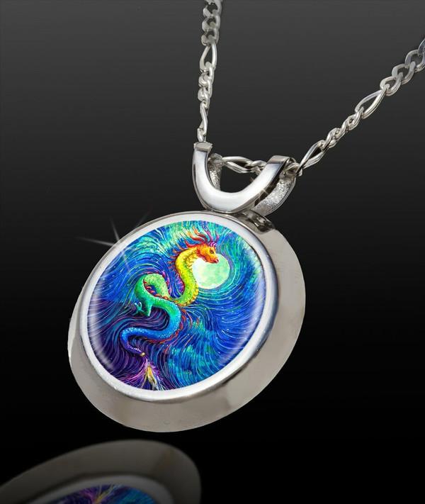 Dragon's Moon Channeled Energy Chi Pendant